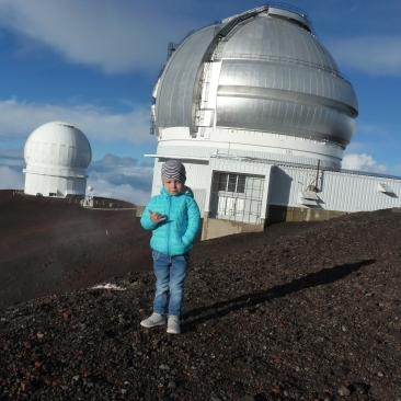 Josh auf dem Mauna Kea